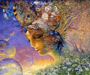Image result for josephine wall bubble flower painting