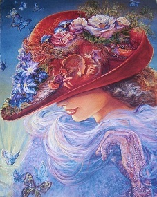 Josephine wall one stop shopping home page special offer of 75 reduction on matted prints of the red hat painting there are two sizes available 8x10 inches matted to 11x14 inches voltagebd